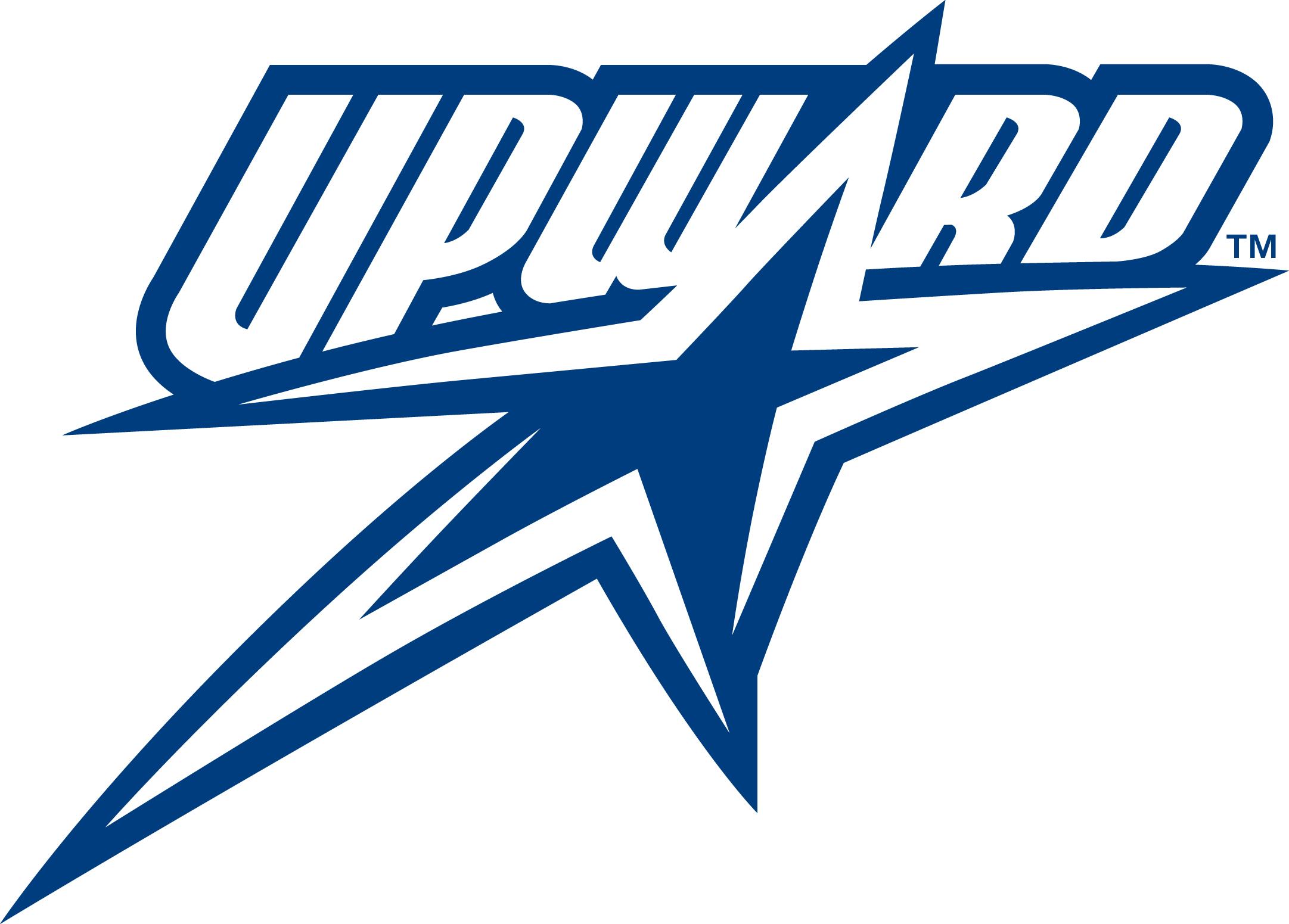 Upward sports flag football clipart.