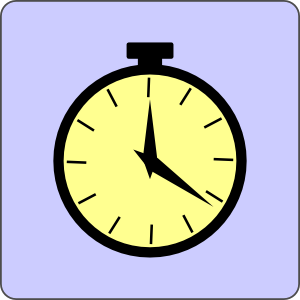 Pocket Watch Icon Clip Art at Clker.com.