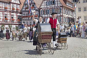 """Stock Photo of """"Historical parade, Schaferlauf festival, Bad Urach."""
