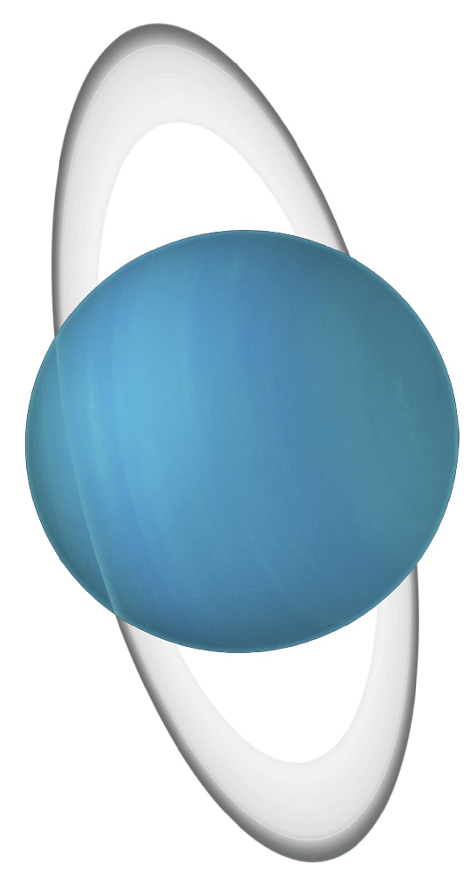 Uranus Its Rings and Clip Art.