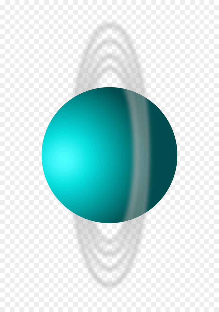 Urano (Uranus) Planet Clip art.