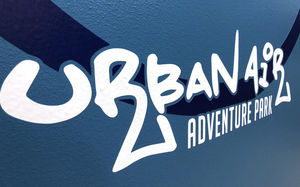 Urban Air Adventure Park Spot Graphics.