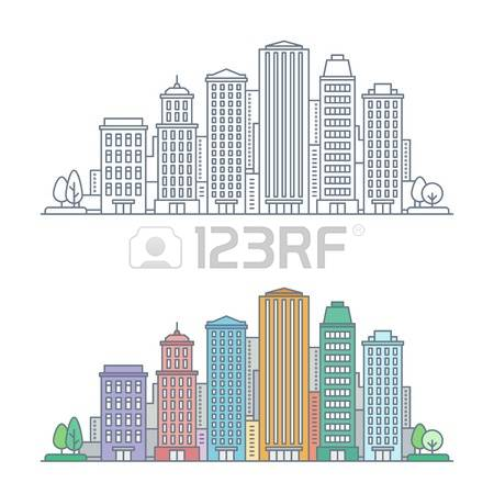 11,060 Urban Center Cliparts, Stock Vector And Royalty Free Urban.