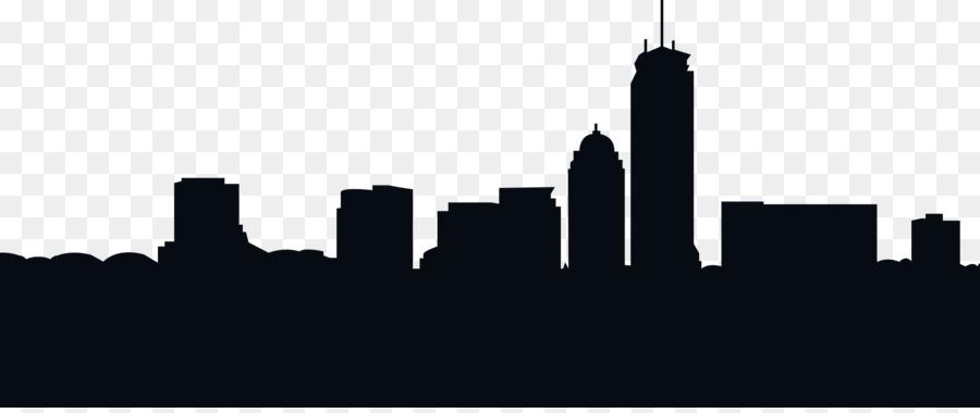 Urban City Silhouette.