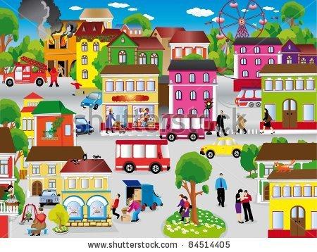 Community clipart urban, Community urban Transparent FREE.