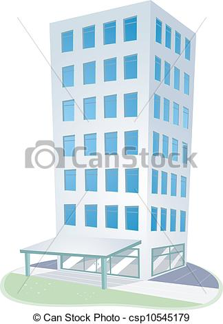 Vectors Illustration of Condominium.