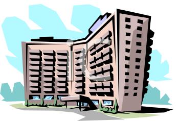 Condominium Clip Art.