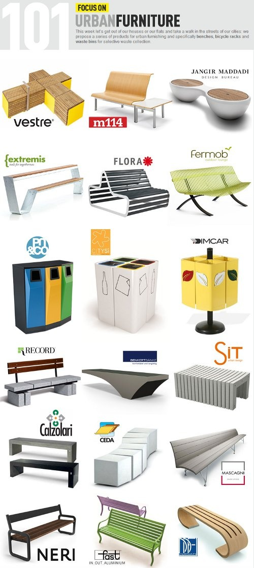 17 Best ideas about Urban Furniture on Pinterest.