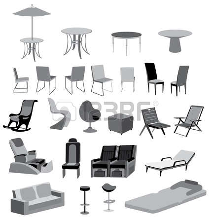 1,894 Garden Furniture Cliparts, Stock Vector And Royalty Free.