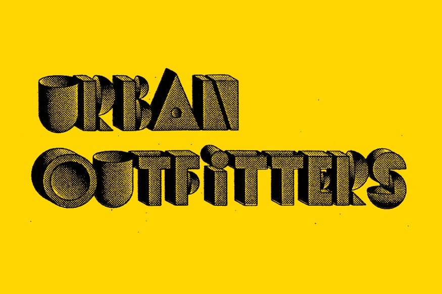 A Full Collection of Urban Outfitter Logo Designs.