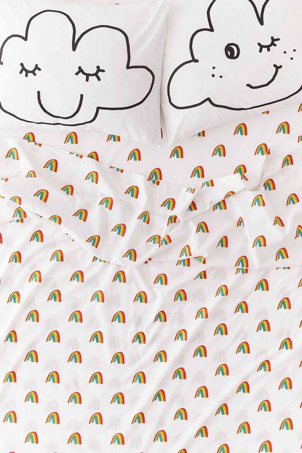 Jarmél By Jarmel UO Exclusive Rainbow Sheet Set.