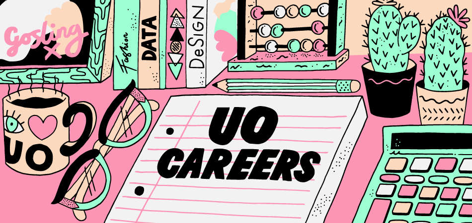 UO careers by Dwayne for Urbanoutfitters.