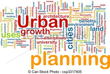 Stock Illustrations of Urban planning background concept.