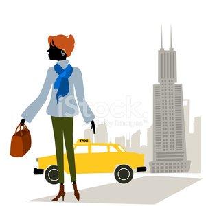 Urban Street Style Clipart Image.
