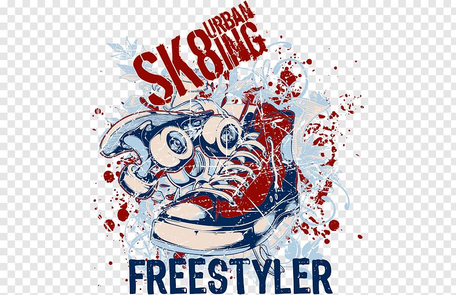 SK8ing Urban freestyler, T.