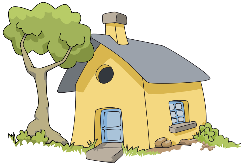Village House Clipart.