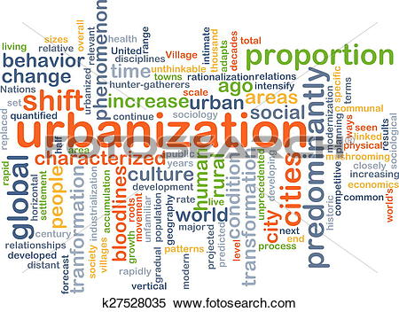 Stock Illustration of Urbanization background concept k27528035.