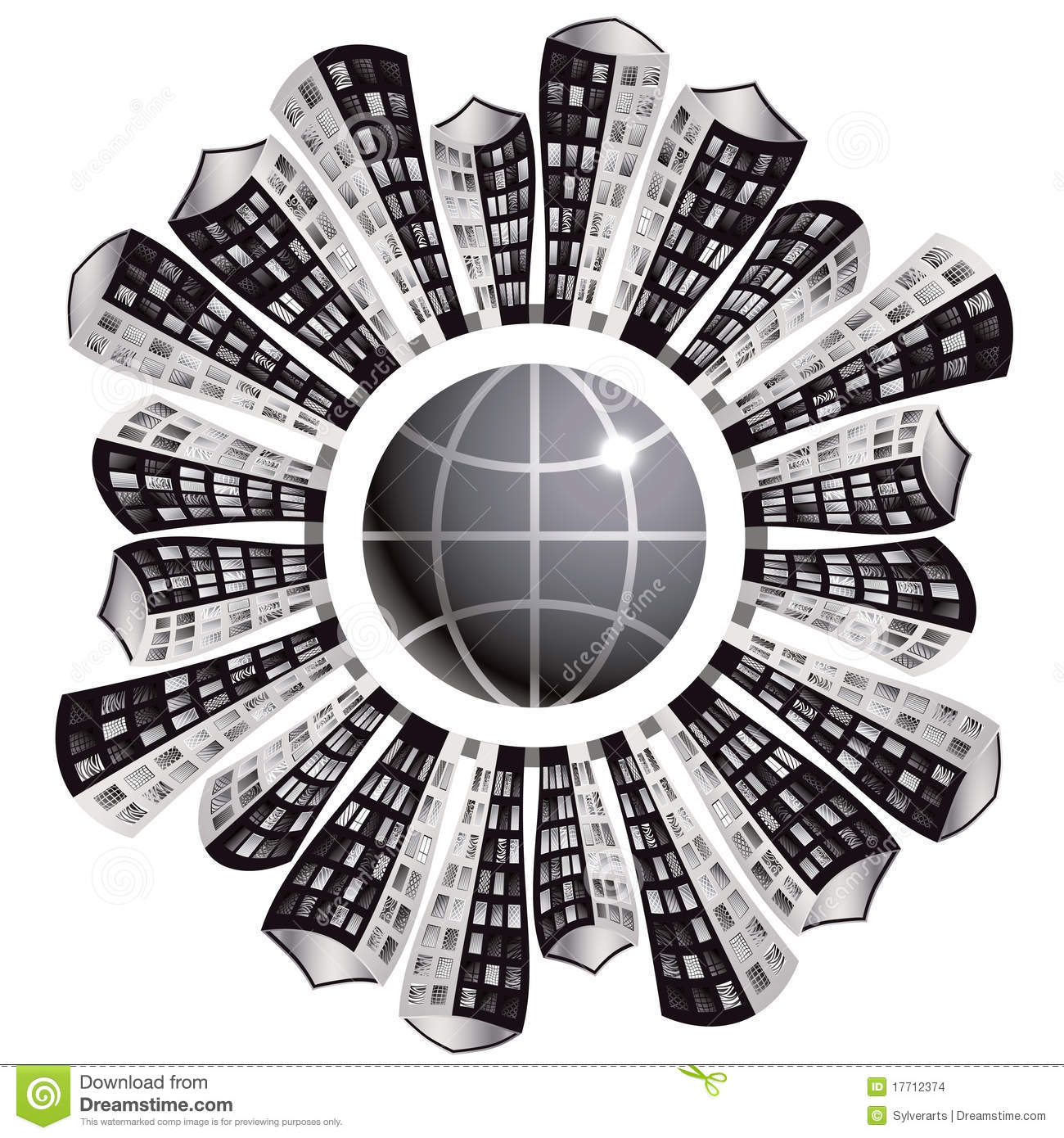 Urbanization Clipart