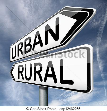 Pictures of urban or rural urbanization regional planning.