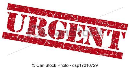 Urgent Stamp Clipart.