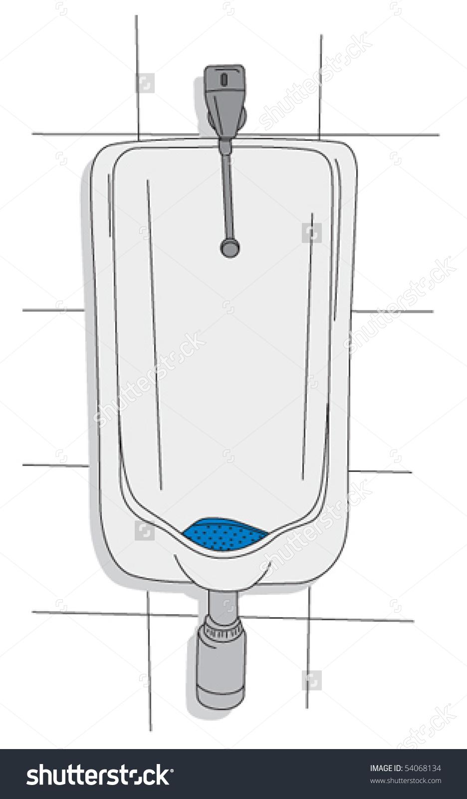 Urinal Clip Art.