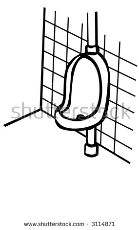 Urinal Bathroom Stock Vector 3114871.
