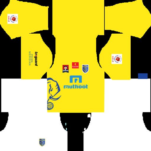 Kerala Blasters FC Jersey Kits Logo URLs.