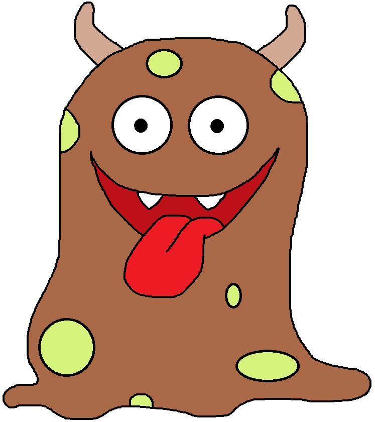 Free Monster Clipart.