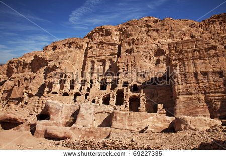 Urn Tomb First Famous Royal Tombs Stock Photo 69227335.