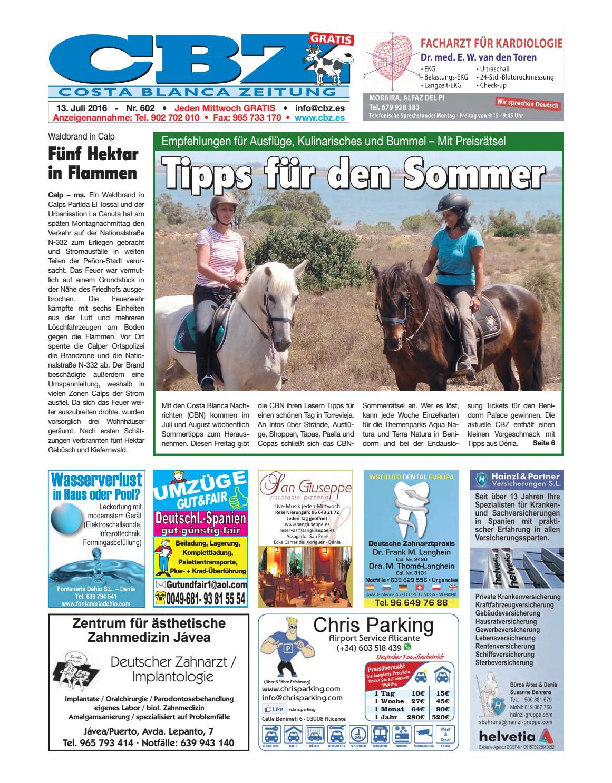 Costa Blanca Zeitung.