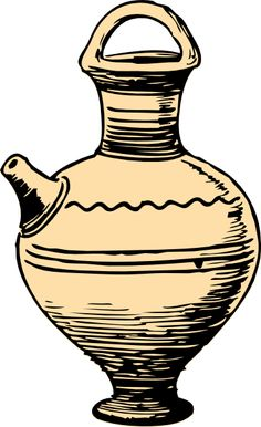 Water urns clipart.