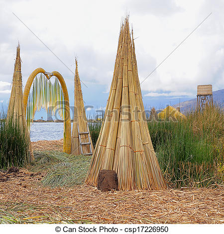 Stock Images of Uros islands.