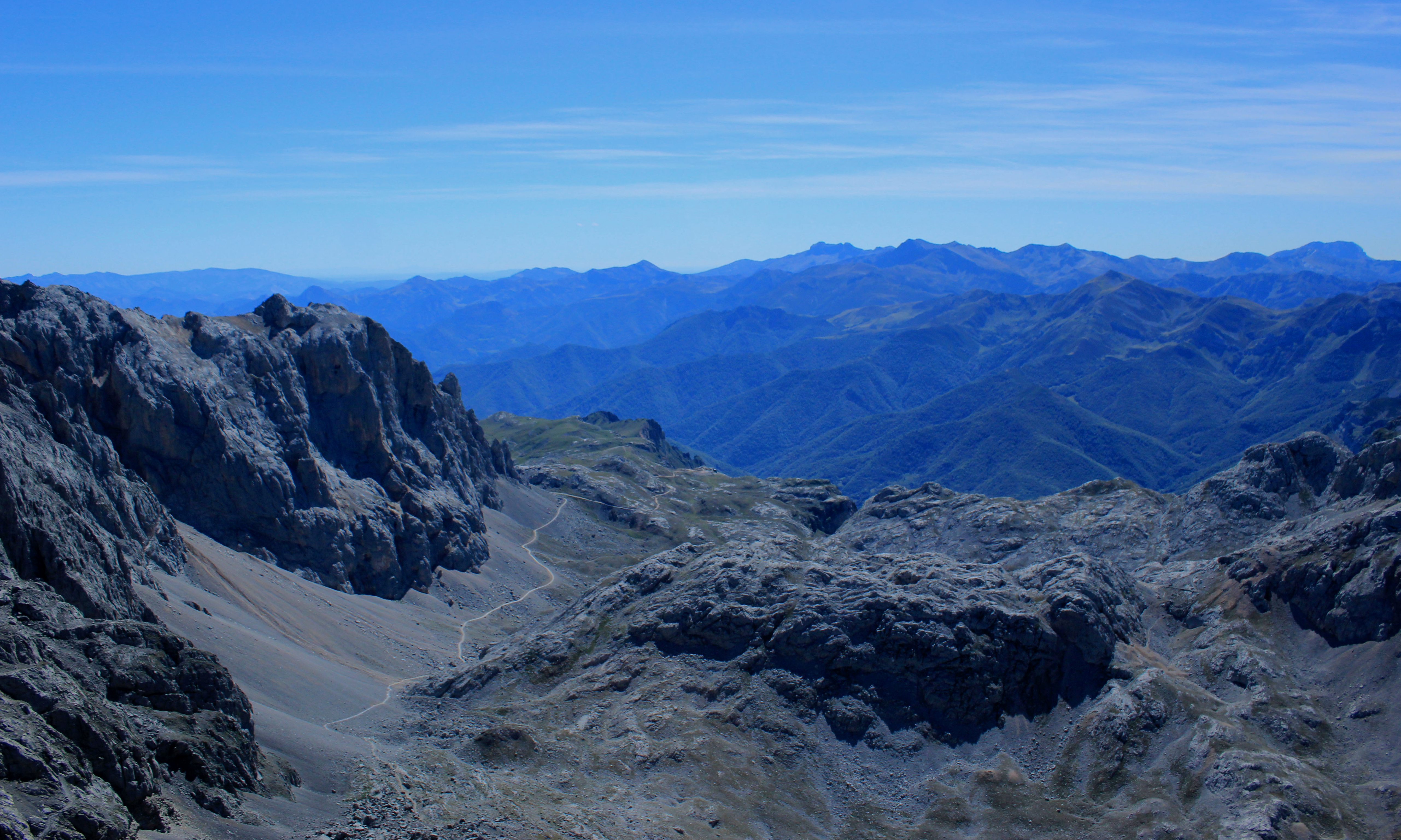 Above the Clouds: Getting my hike on in the Picos de Europa.