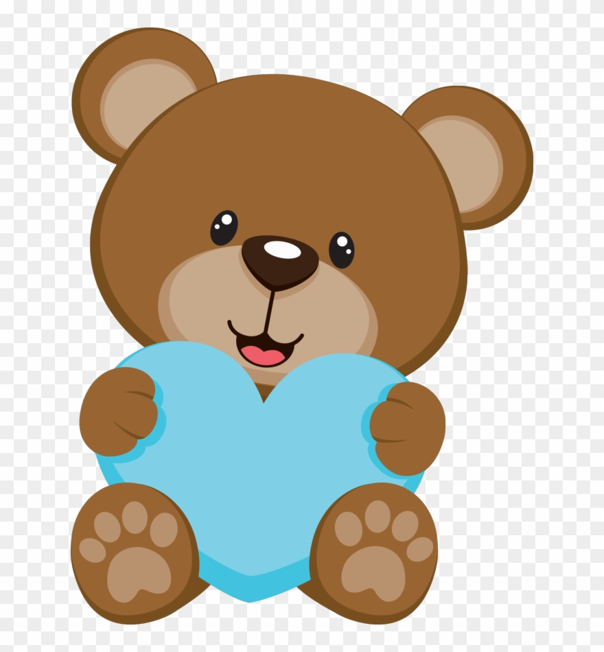Bear In Crib Clip Art.