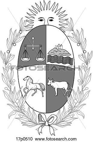 Clipart of Uruguay.