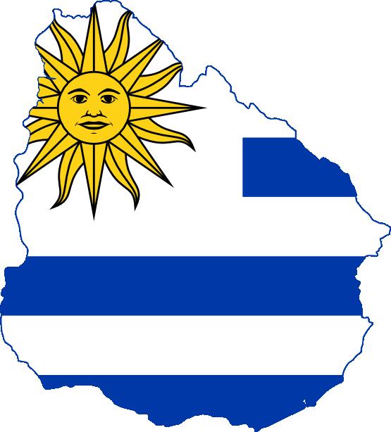 Uruguay Clipart.