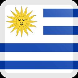 Uruguay flag clipart.