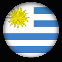 Free Animated Uruguay Flags.