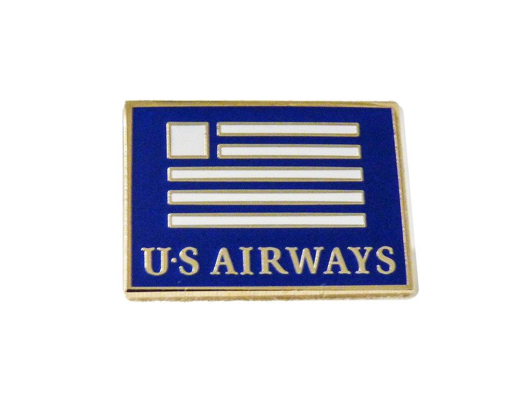 US Airways Logo Lapel Pin.