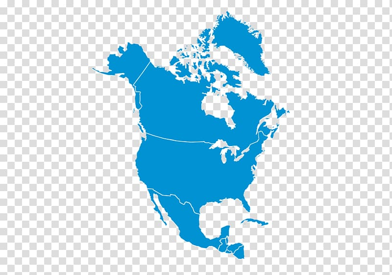 United States Canada Map, america map transparent background.