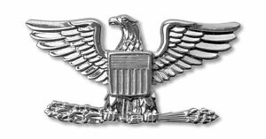 Details about COLONEL US MARINES JACKET HAT PIN EAGLE RANK O.