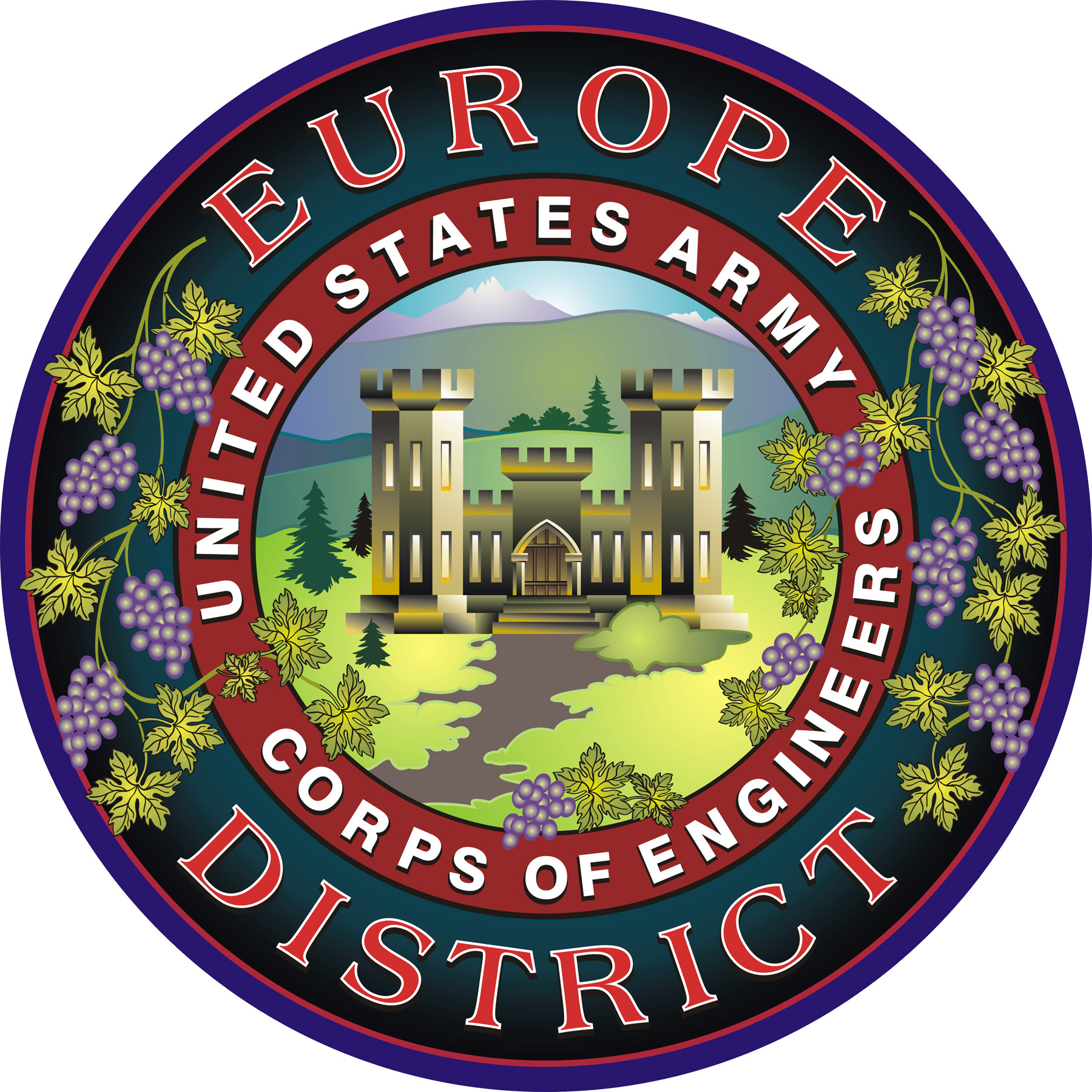 U.S. Army Corps of Engineers, Europe District.
