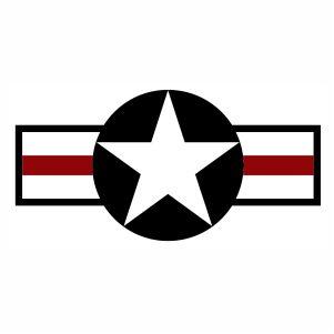 Retro US Army USA Star Logo svg.