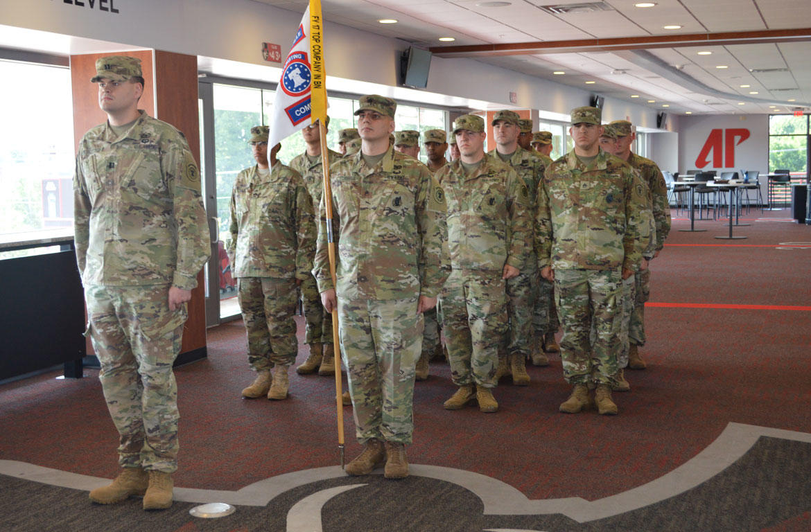 New leadership for U.S. Army Recruiting Clarksville Company.