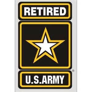 U.S. Army Retired Logo.