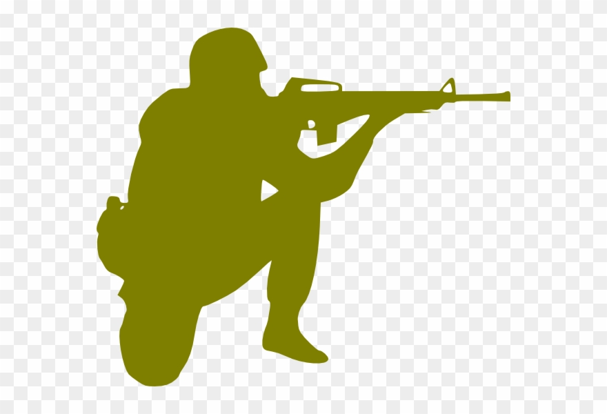 Military Soldier Clipart.