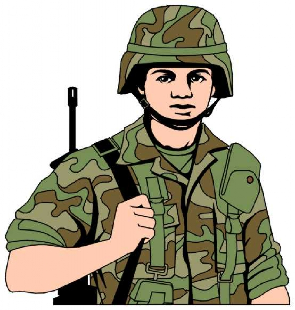 Collection of Us army clipart.