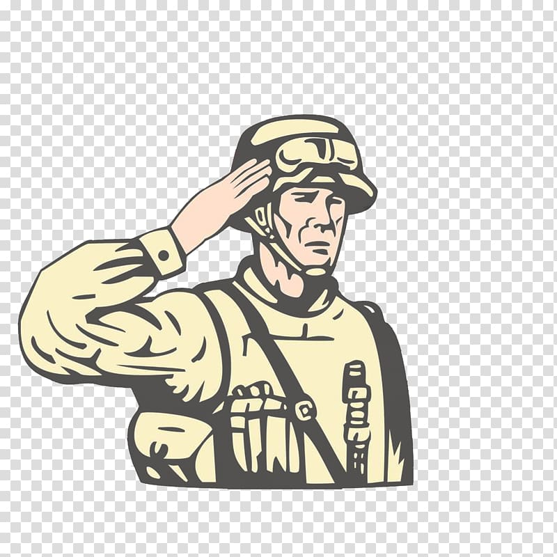 United States Military Soldier Illustration, Foreign.