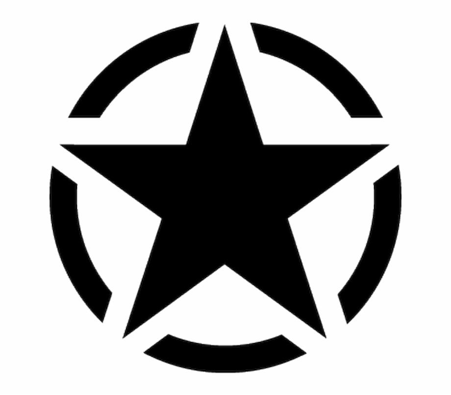18880 Sticker Etoile Us Army Star.