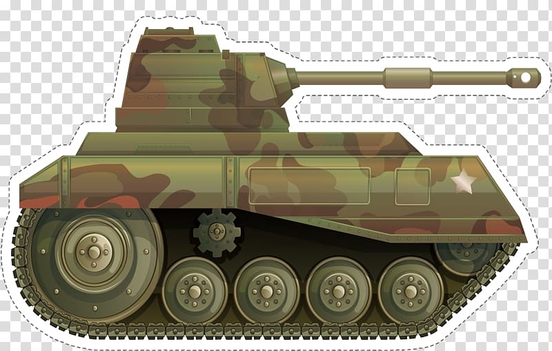 Soldier , Military camouflage tank transparent background.